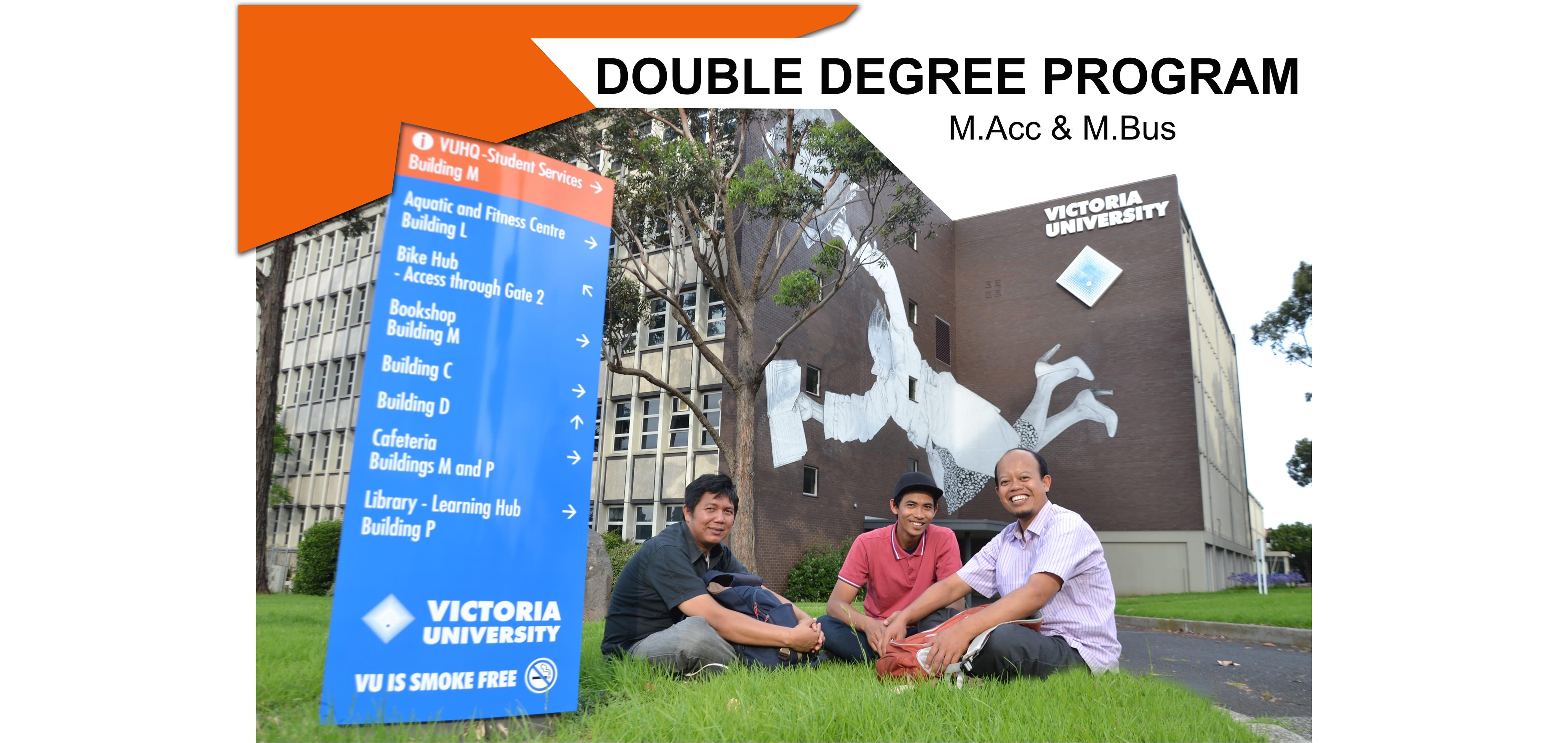 Double Degree Program FEB UGM & VGBS VU