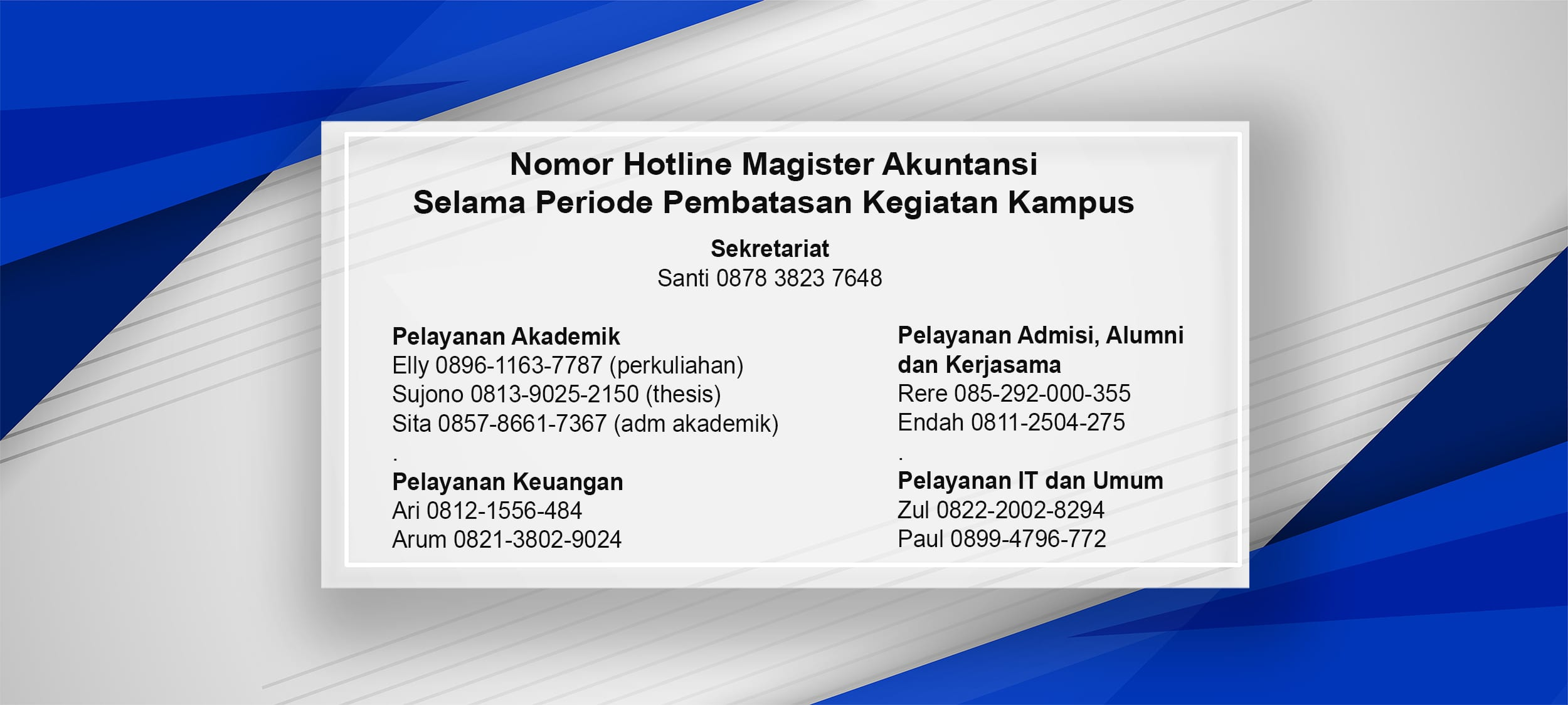 Hotline Number