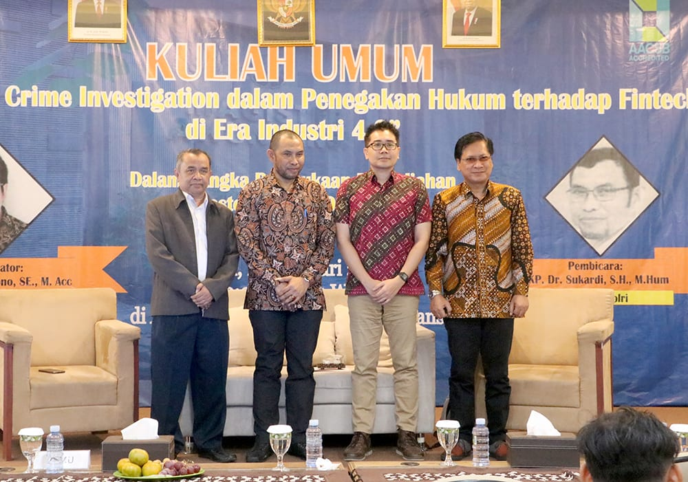 Kuliah Umum Financial Crime Investigation